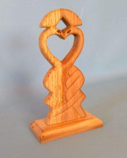Sculptura in lemn de fag