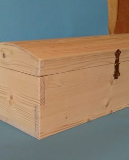 Cufar din lemn natur
