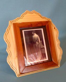 Rama foto din lemn de prun si molid