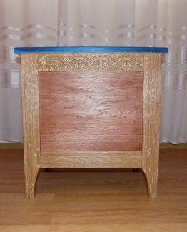 Cufar din lemn de stejar