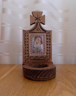 candela din lemn