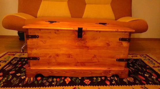 banca lada lemn masiv
