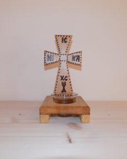 candela pirogravata