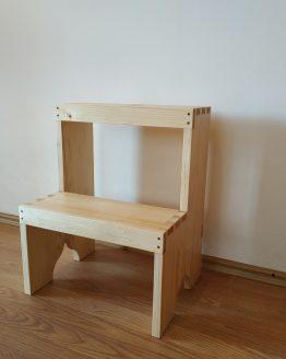 scaunel cu doua trepte